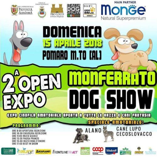 Show per tutte le razze in Monferrato!