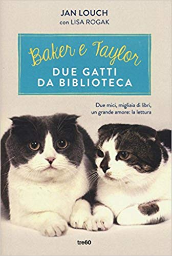 Due gatti da biblioteca: la loro storia diventa un libro!