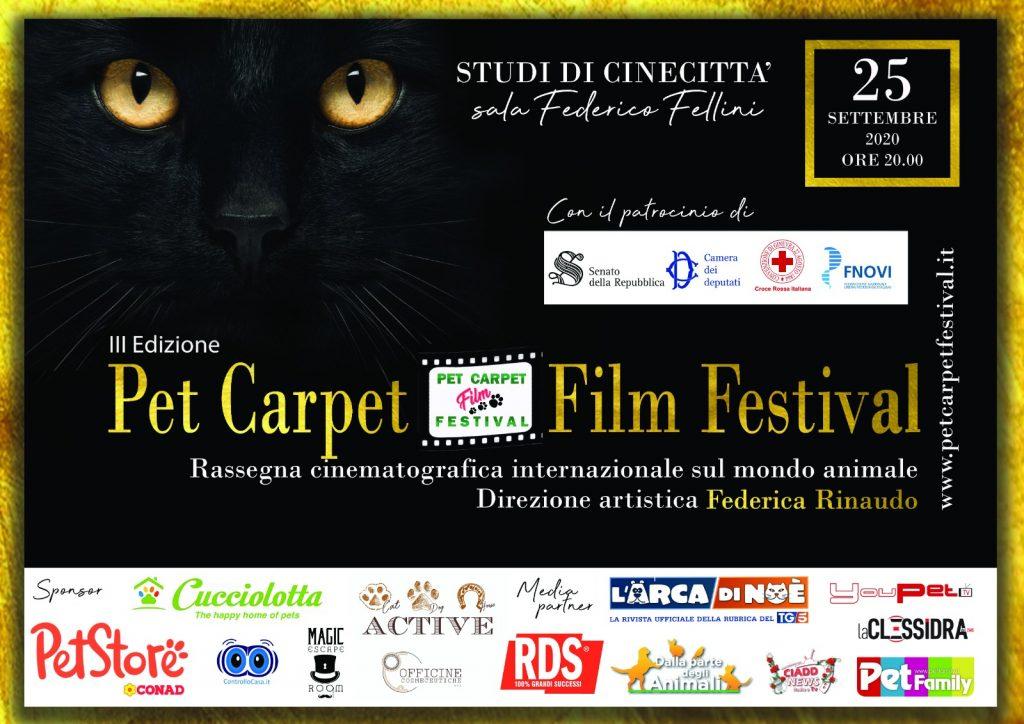 A Roma la 3° Edizione del Pet Carpet Festival!