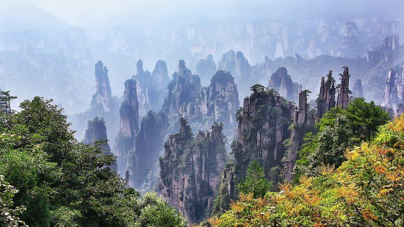 Il Parco dei Pilastri (Cina)…